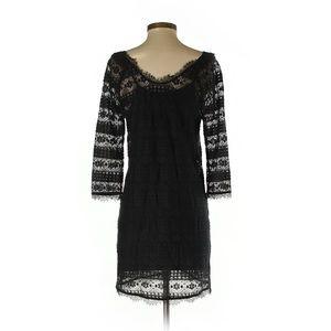 Joie S Black Lace Dress